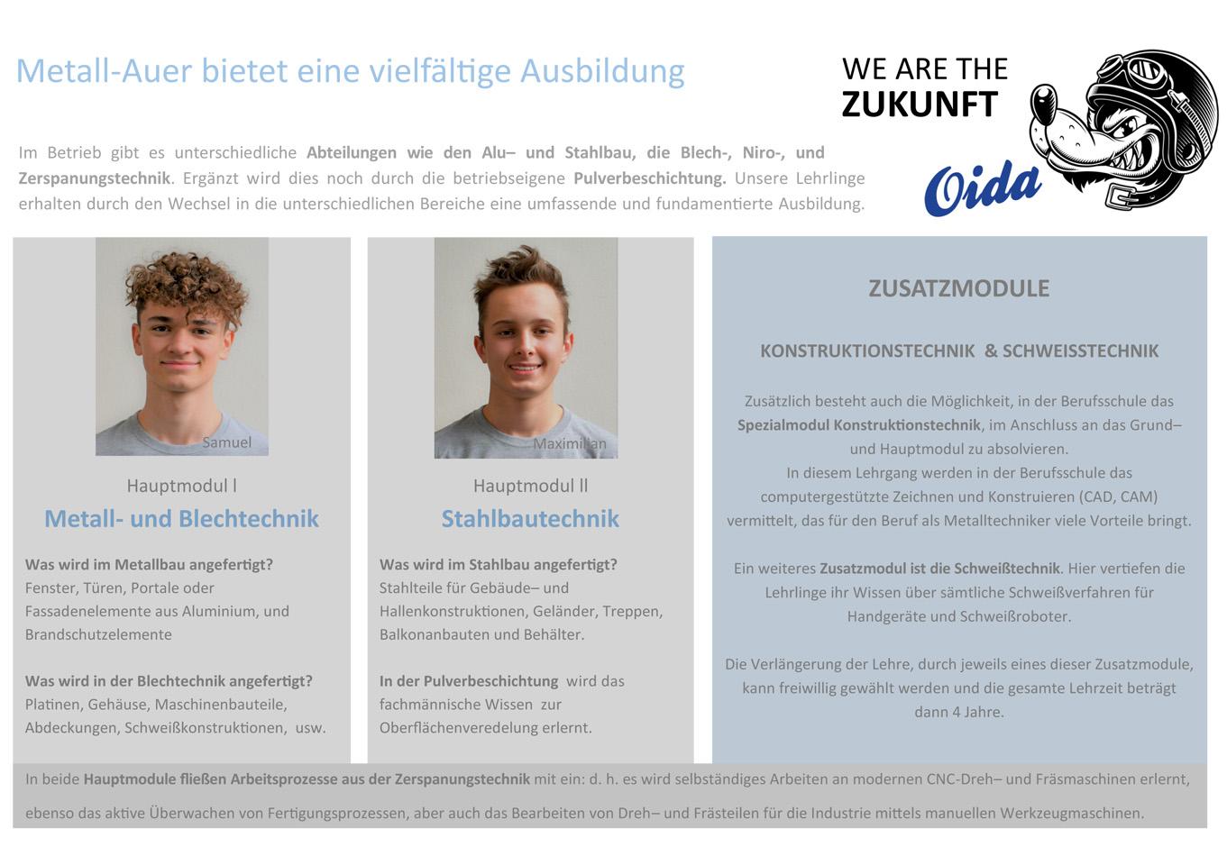 Infobroschüre KARRIERE-INFO